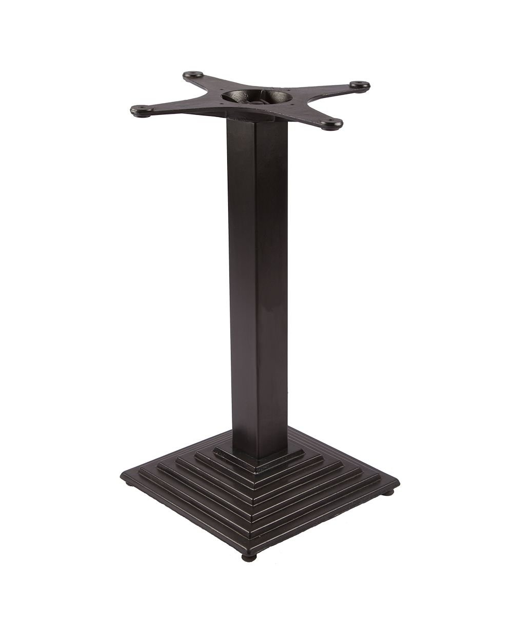 Tb 108 dining height cast iron indoor decorative table base for 108 table seats how many