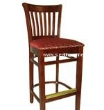 422BS Wood Restaurant Bar Stools