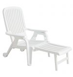 White Bahia Deck Chair