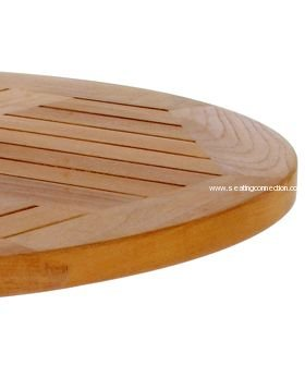 tables tops bases table tops tom teak wood outdoor round table