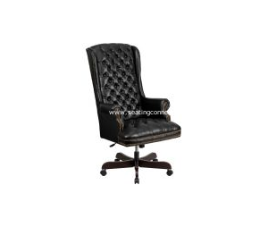 Traditional Leather Executive Swivel Chairs