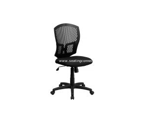 Plastic Back Office Task Chairs