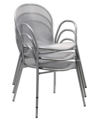 ronda heavy duty indoor outdoor stacking arm chairs