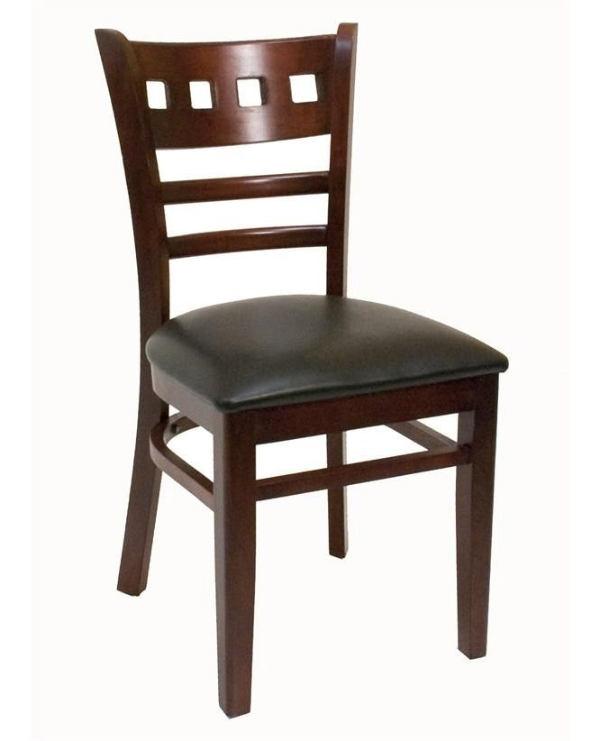 Ats furniture wood restaurant chairs ships from