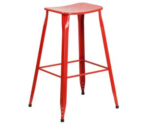 Colorful Metal Bar Stools