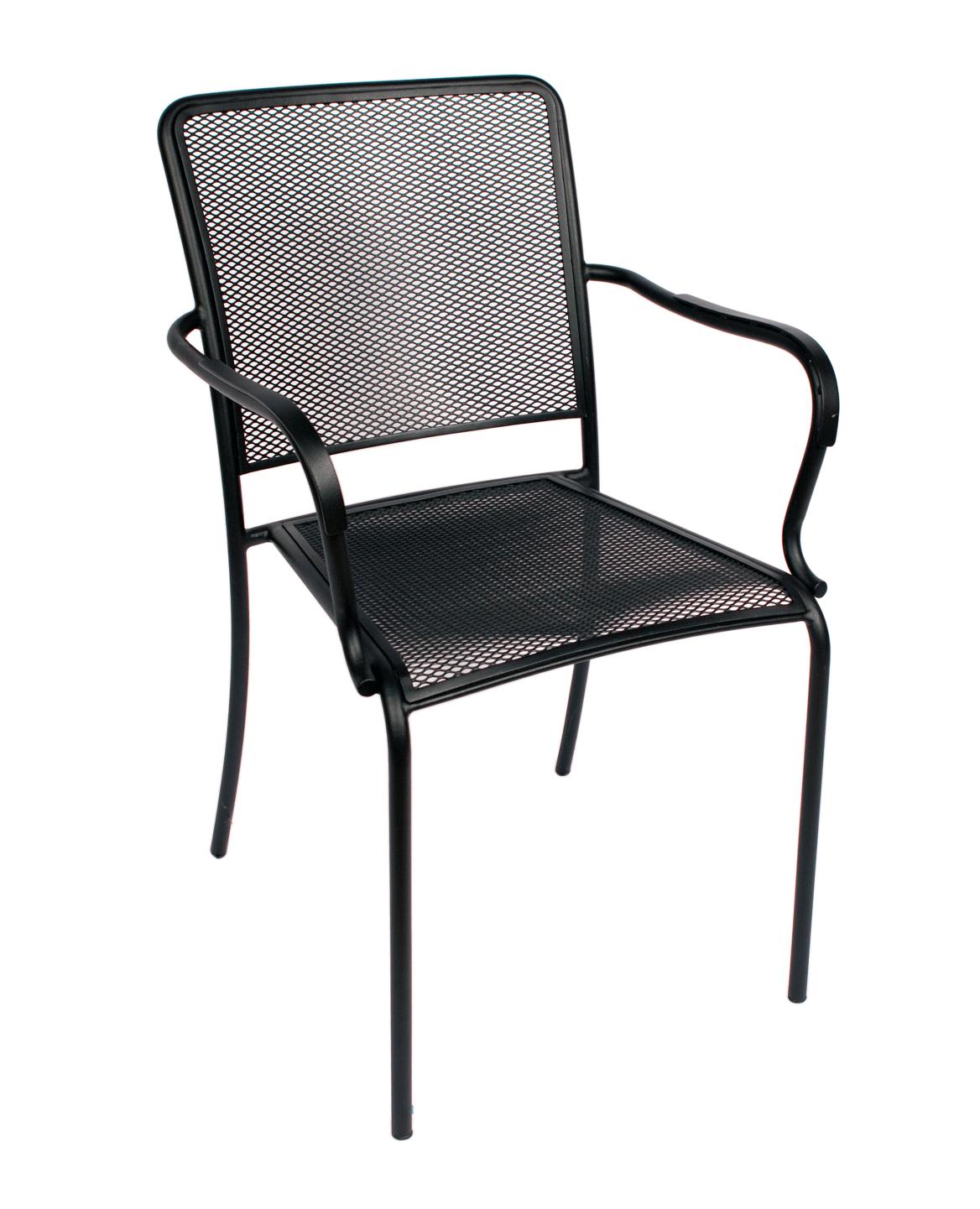Chesapeake Indoor Outdoor Stackable Arm Chairs