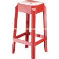 Fox Polycarbonate Outdoor Counter Stool