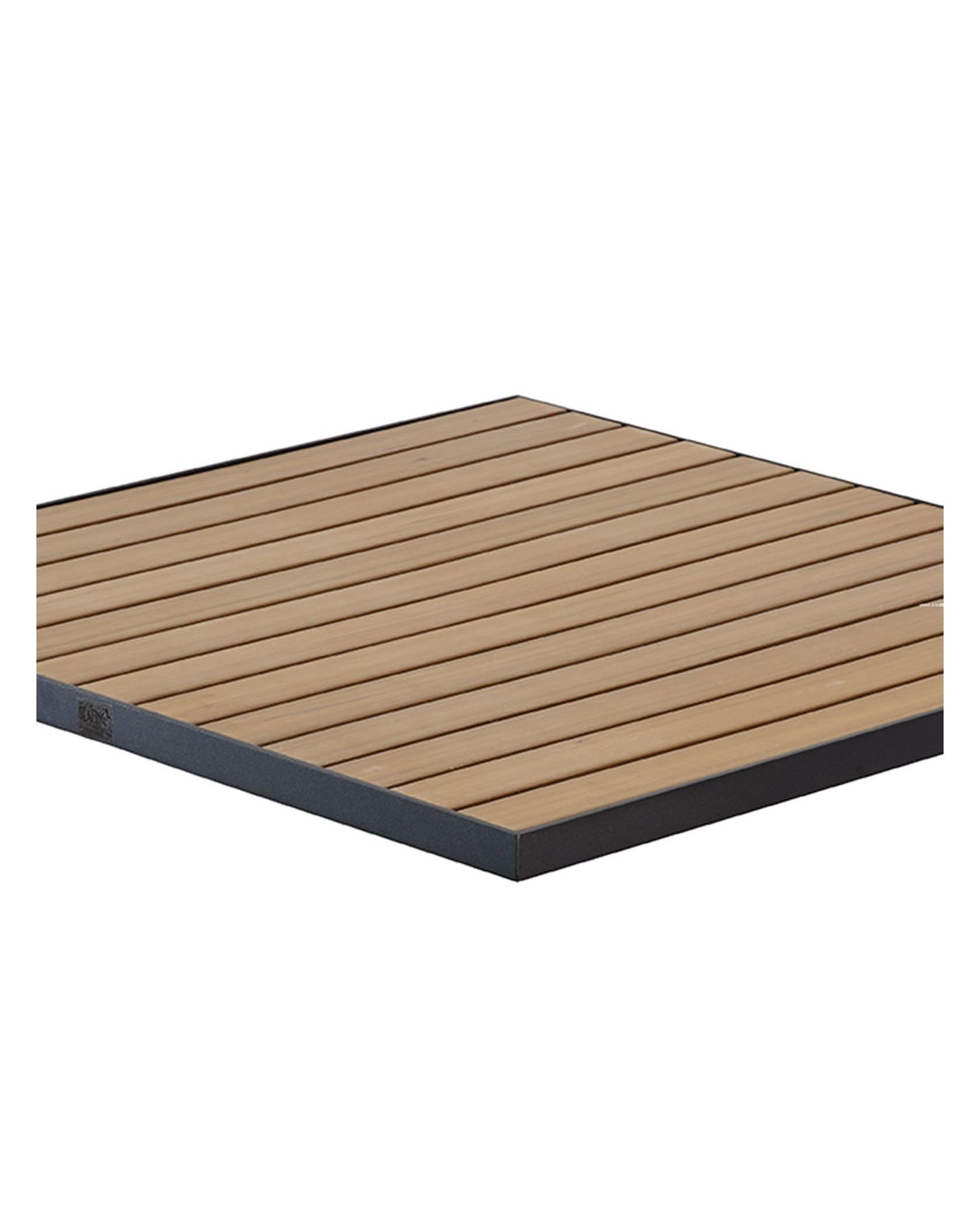 Ta Pt Tops Florida Seating Outdoor Synthetic Teak Wood Tops