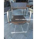 AAA Furniture AL-Romeo BS Aluminum Bar Stools