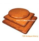 Antique Cherry Birchwood Veneer Indoor Table Tops