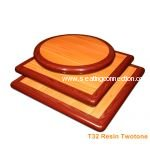 Resin High Gloss Two Tone Indoor Table Tops