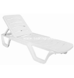 Sunlight Pool Resin Chaise Lounge