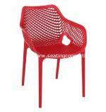 Air XL Resin Outdoor Dining Arm Chair