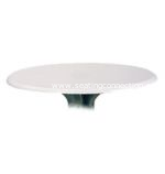 "Grosfillex 24"" Round Indoor/Outdoor Table Top"