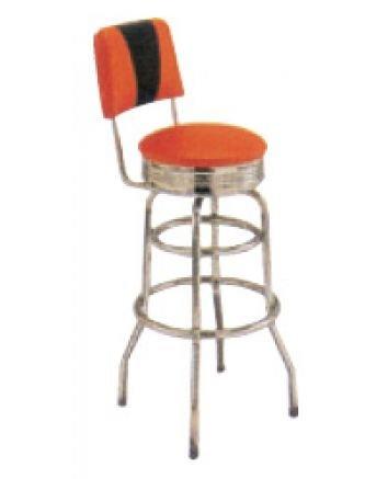 AAA Furniture DRB Back Band Metal Restaurant Bar Stools
