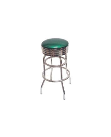DRB Band Backless Bar Stool