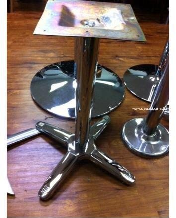 "AAA Furniture CTB2525 25"" x 25"" Cross Indoor Outdoor Table Bases"
