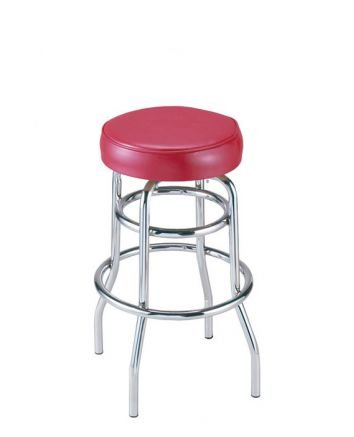 G&A Seating 142 Retro Restaurant Swivel Bar Stools