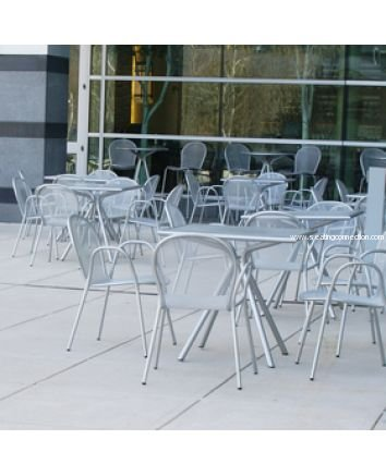 Ronda 116 Indoor Outdoor Stacking Arm Chairs Emu Americas