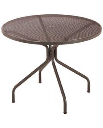 Cambi Mesh Indoor/Outdoor Round Umbrella Tables
