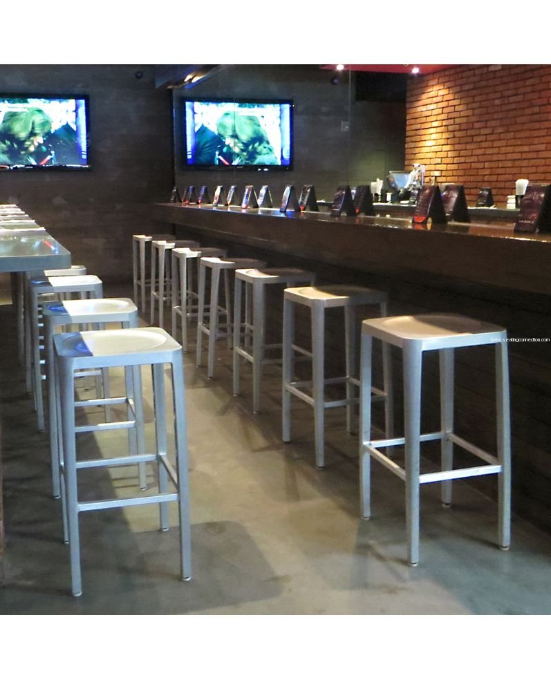 10 cool and casual backless bar stools